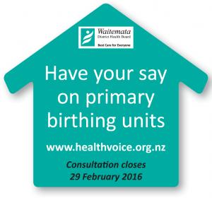 primary birthing units